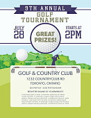 Golf Tournament Template