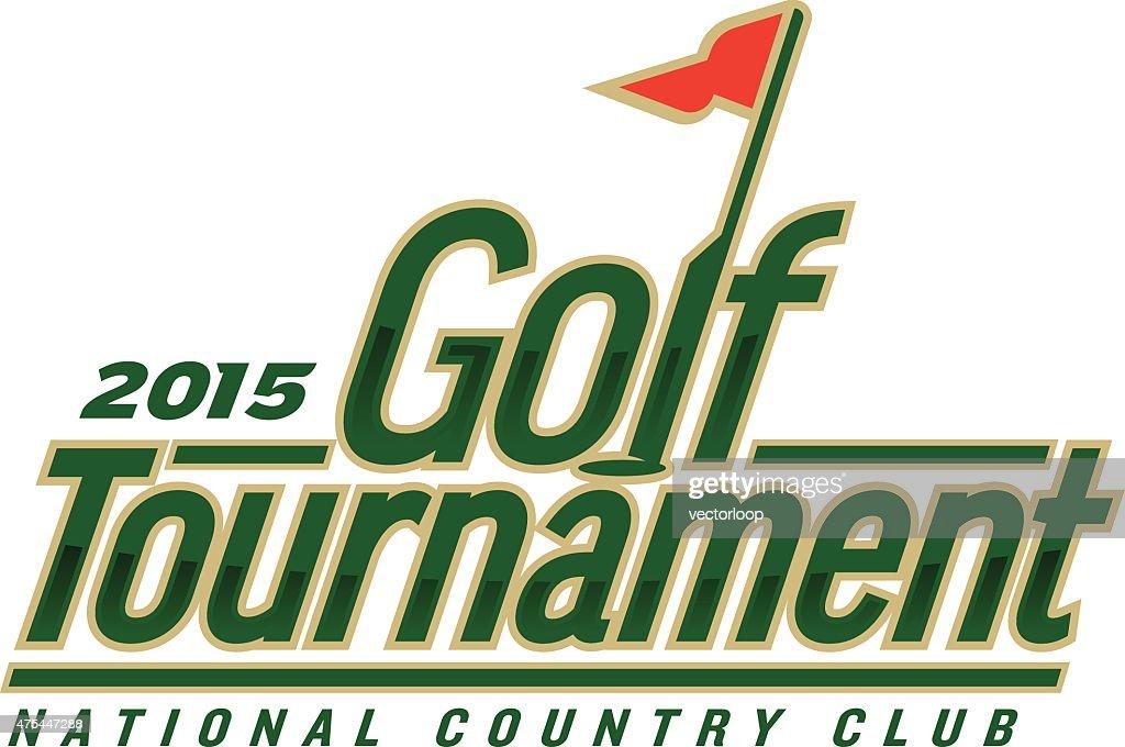 Golf Tournament : stock illustration