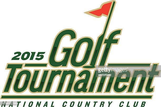 golf tournament - golf tournament stock illustrations, clip art, cartoons, & icons