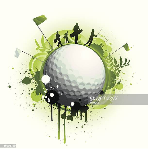golf - golf tournament stock illustrations, clip art, cartoons, & icons