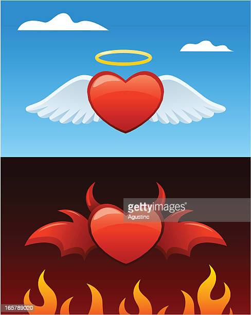 Good and Evil Heart