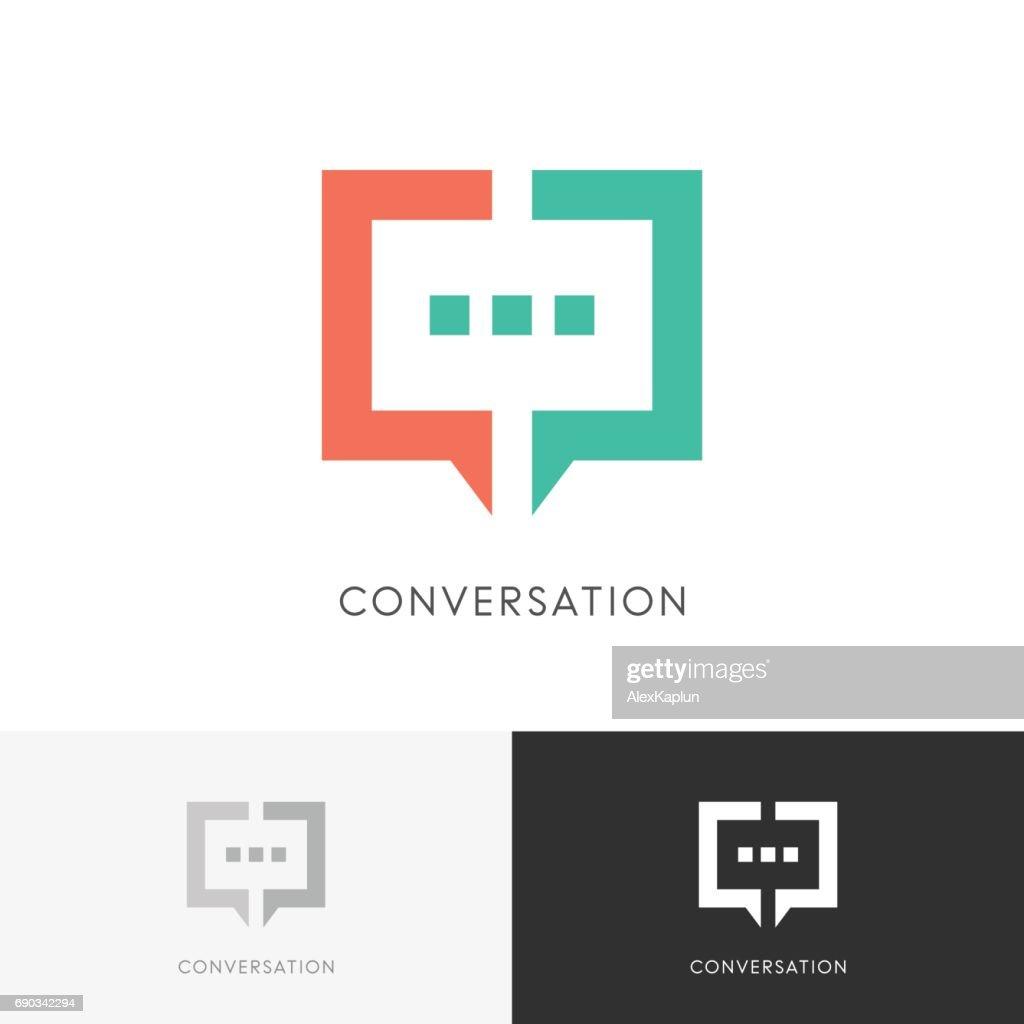 Good conversation symbol