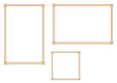 Good frame for A4 size paper.Decorative frame.