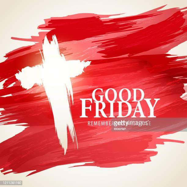 good friday remembrance - good friday stock illustrations