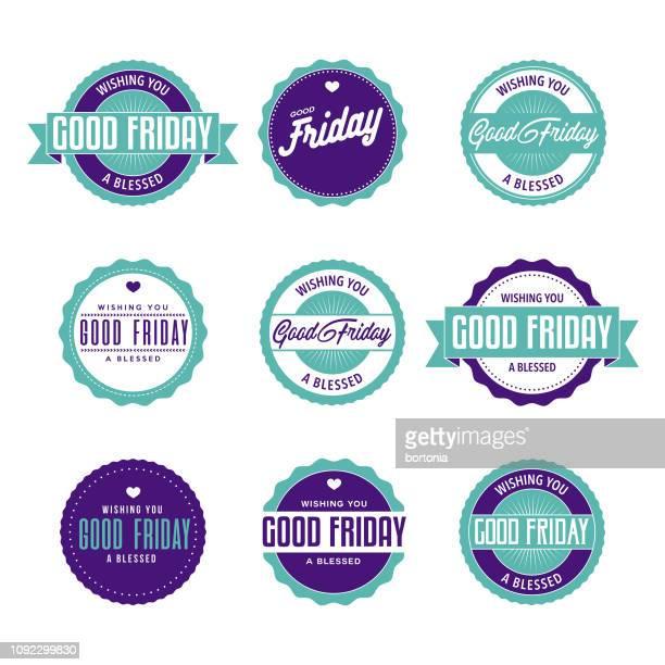 good friday - holy week stock illustrations, clip art, cartoons, & icons