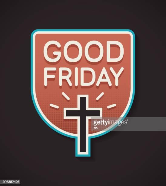 good friday - resurrection religion stock illustrations, clip art, cartoons, & icons