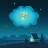 Good night background