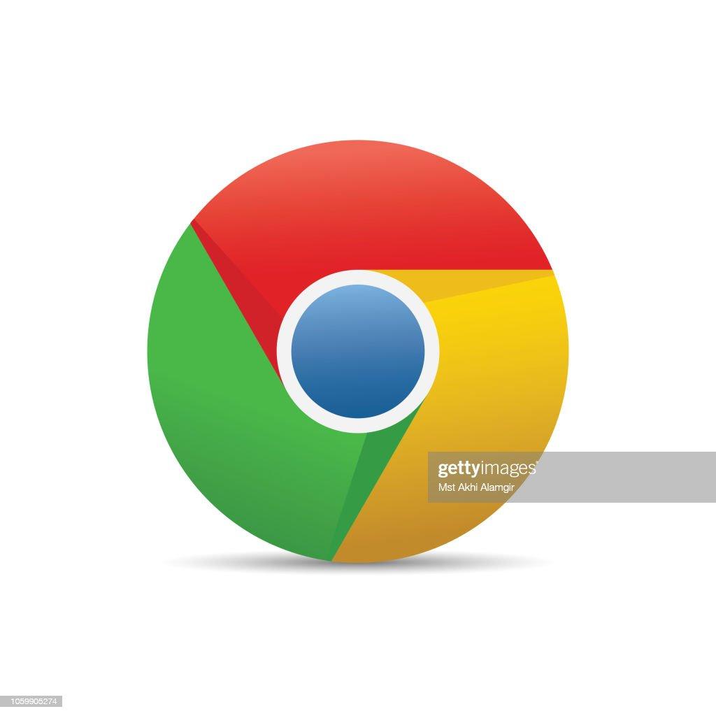 Google Chrome Logo Vector Illustration