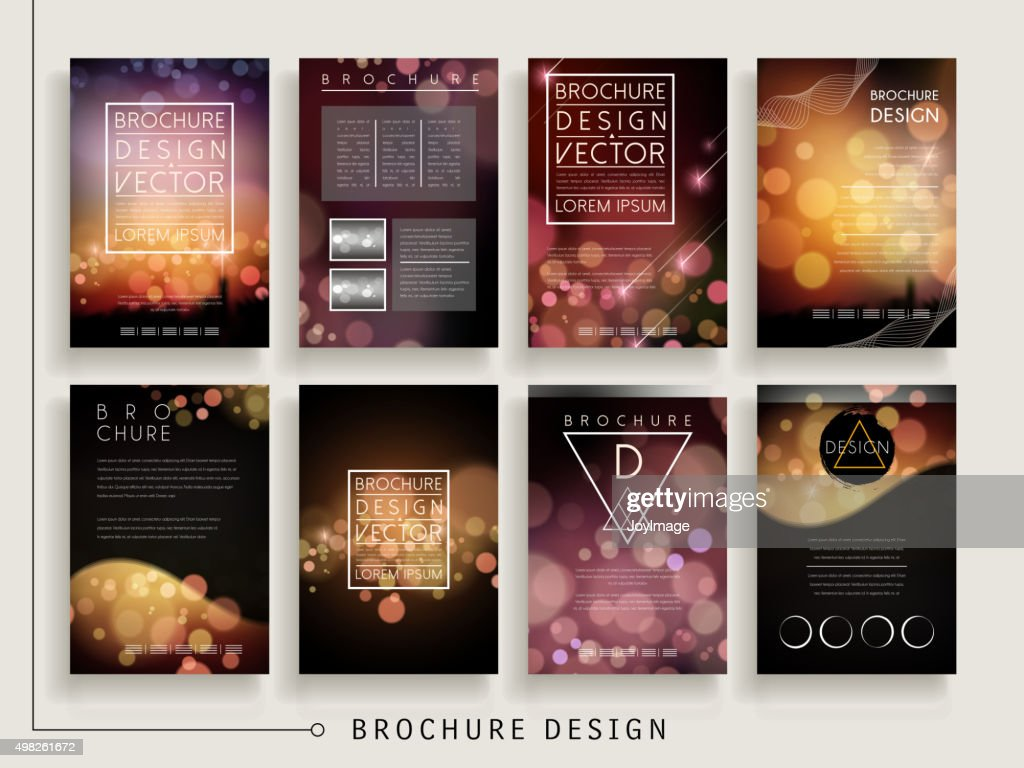 gorgeous brochure template