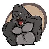 Gorilla in Rage