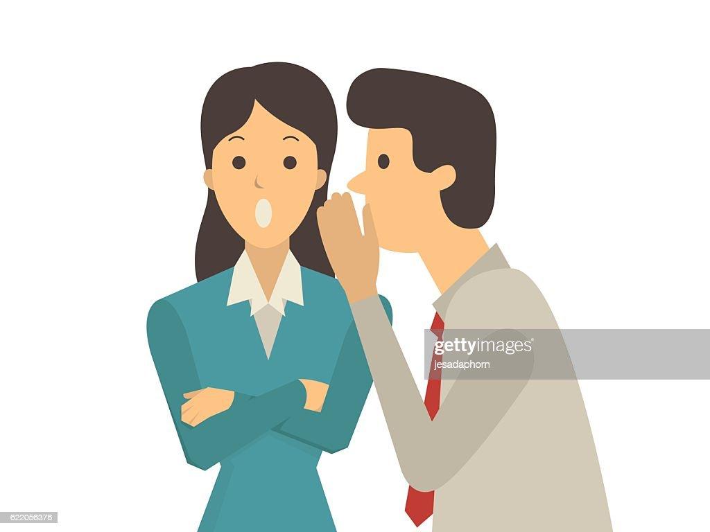 Gossip office workers
