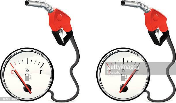 Tem de gás vazio cheia?