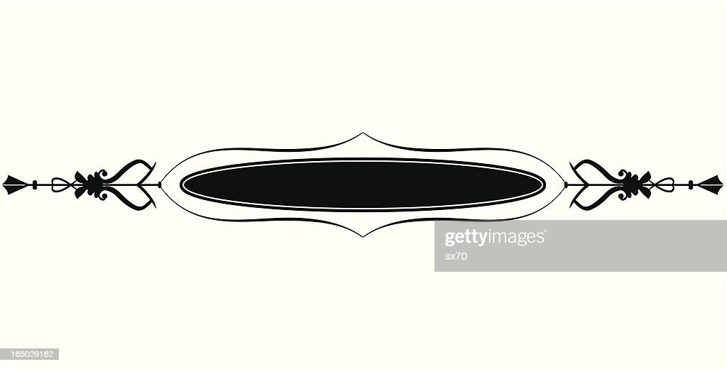 Gothic Border Accent ( Vector )