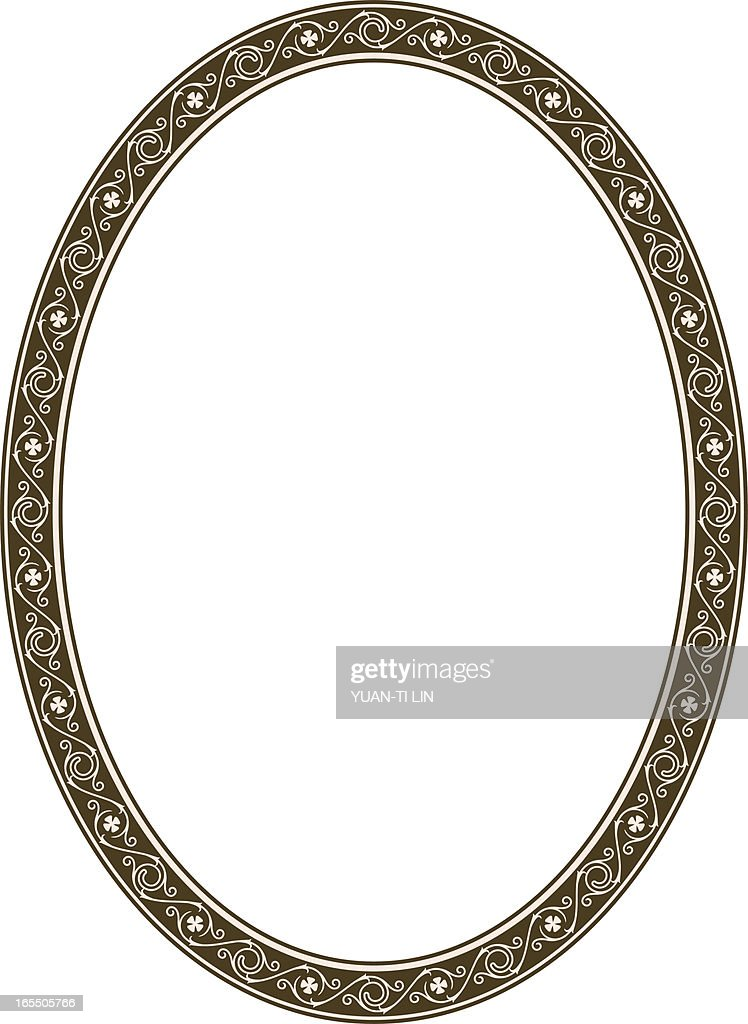 Gothic Scroll Frame Vector Art | Getty Images