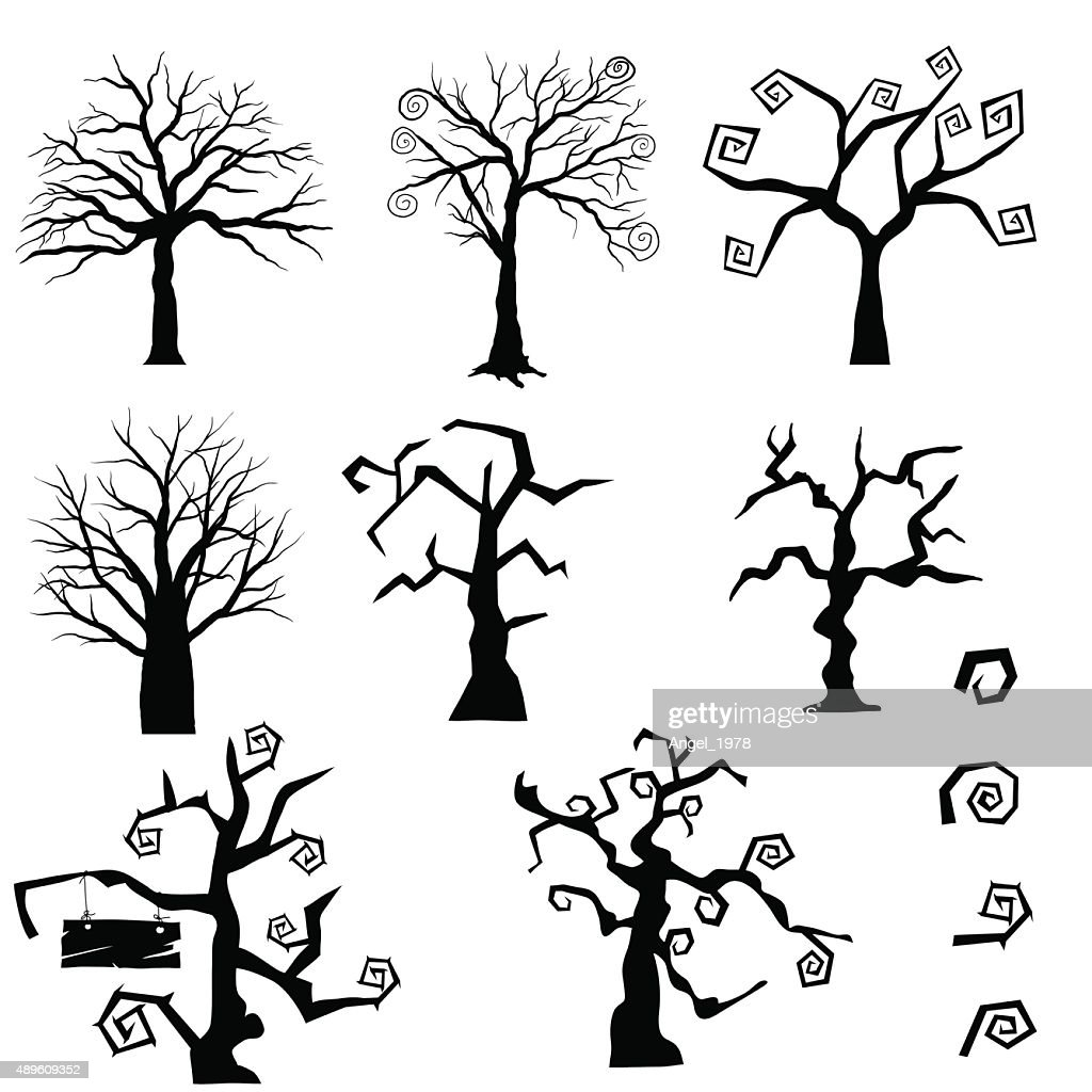 Gothic Trees Set
