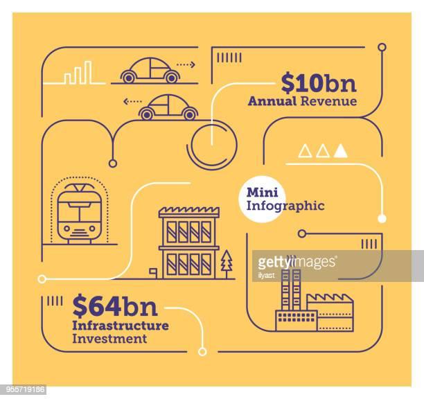 ilustraciones, imágenes clip art, dibujos animados e iconos de stock de gobierno infografía mini - gas de efecto invernadero