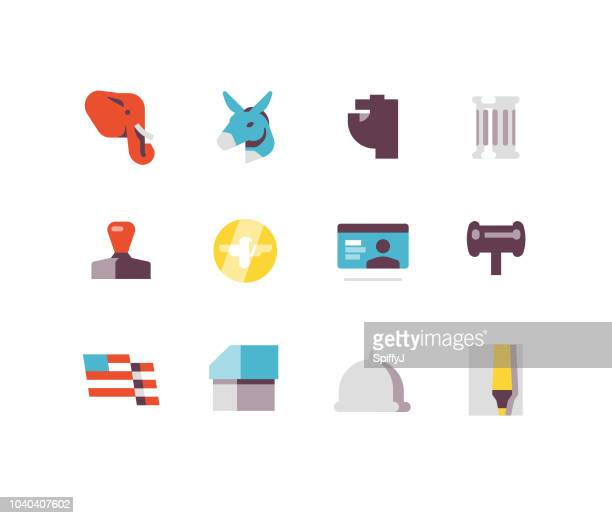 Government Flat icons