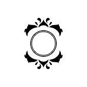 Graceful royal style. Calligraphic beautiful logo. Vintage drawn emblem for book design, brand name, business card, Restaurant, Boutique, Hotel. Vector illustration
