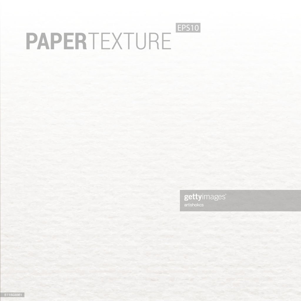 Gradation Realistic White Paper Background Texture.