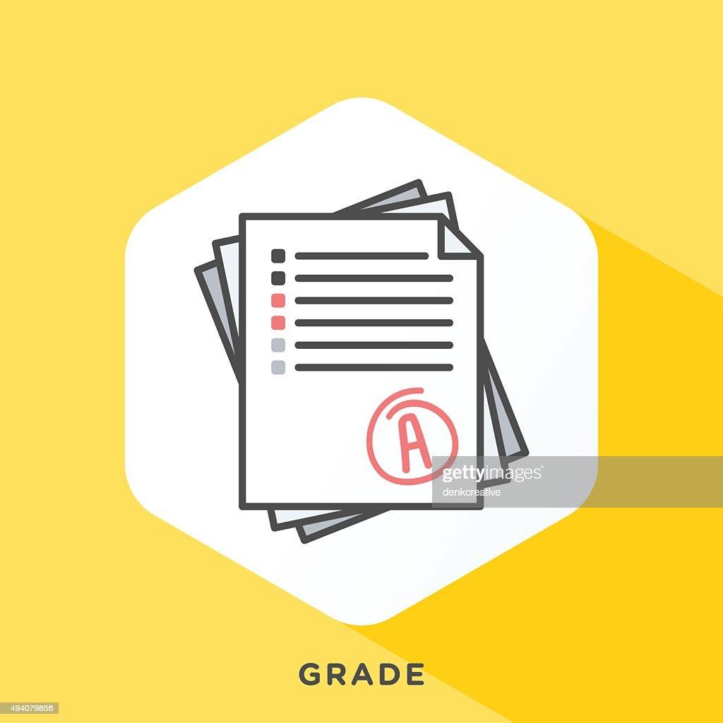 Grade Note Icon