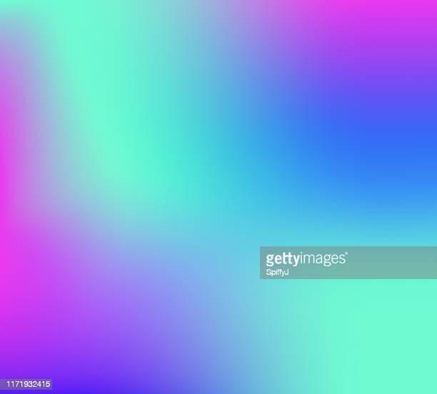 stockillustraties, clipart, cartoons en iconen met achtergrondkleur overgang - fluorescerende