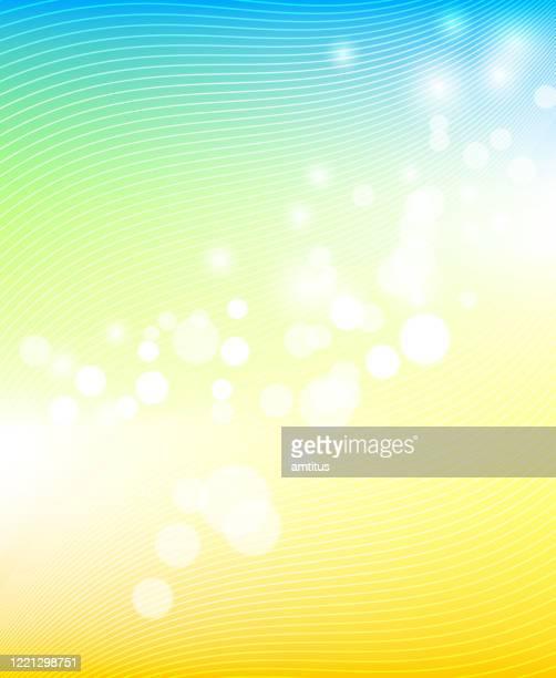 gradient defocus - summer stock illustrations