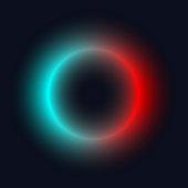 Gradient neon ring