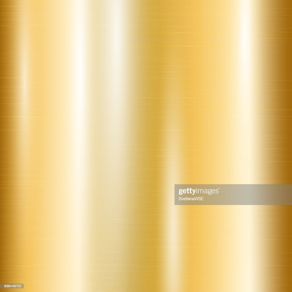 Gradient of yellow gold