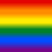 Gradient Rainbow Flag LGBT Background