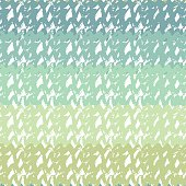 Gradient seamless pattern in turquoise sea colors.