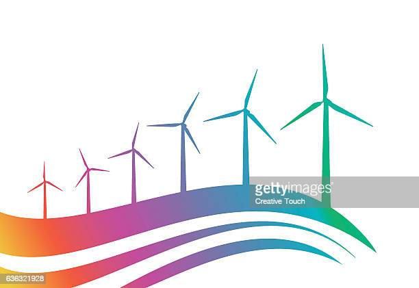 Gradient Wind Turbines landscape