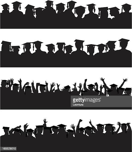 Graduate Crowds