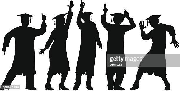 Graduates Dancing