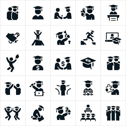 Graduates Icons - gettyimageskorea