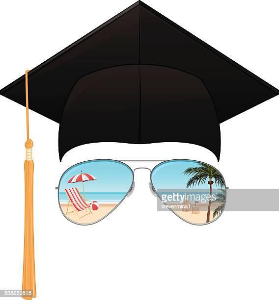 graduation 2015 - high school stock illustrations, clip art, cartoons, & icons