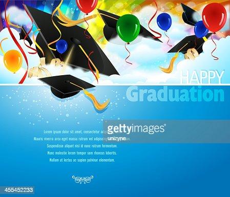 Graduation Background Stock Illustration - Getty Images