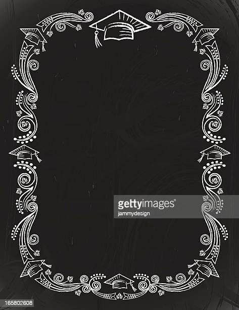 Graduation Chalkboard Card