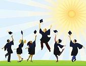 Graduation Day Illustration