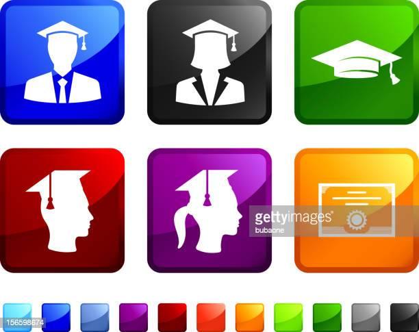 Graduation Day vector icon set