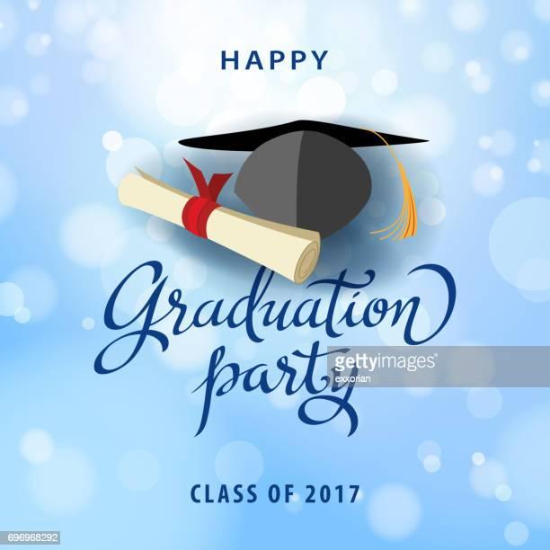 graduation party - congratulating stock illustrations, clip art, cartoons, & icons