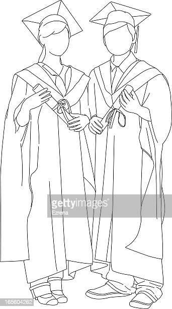 graduation - cap stock illustrations