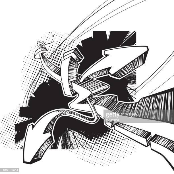 graf element - rough stock illustrations, clip art, cartoons, & icons