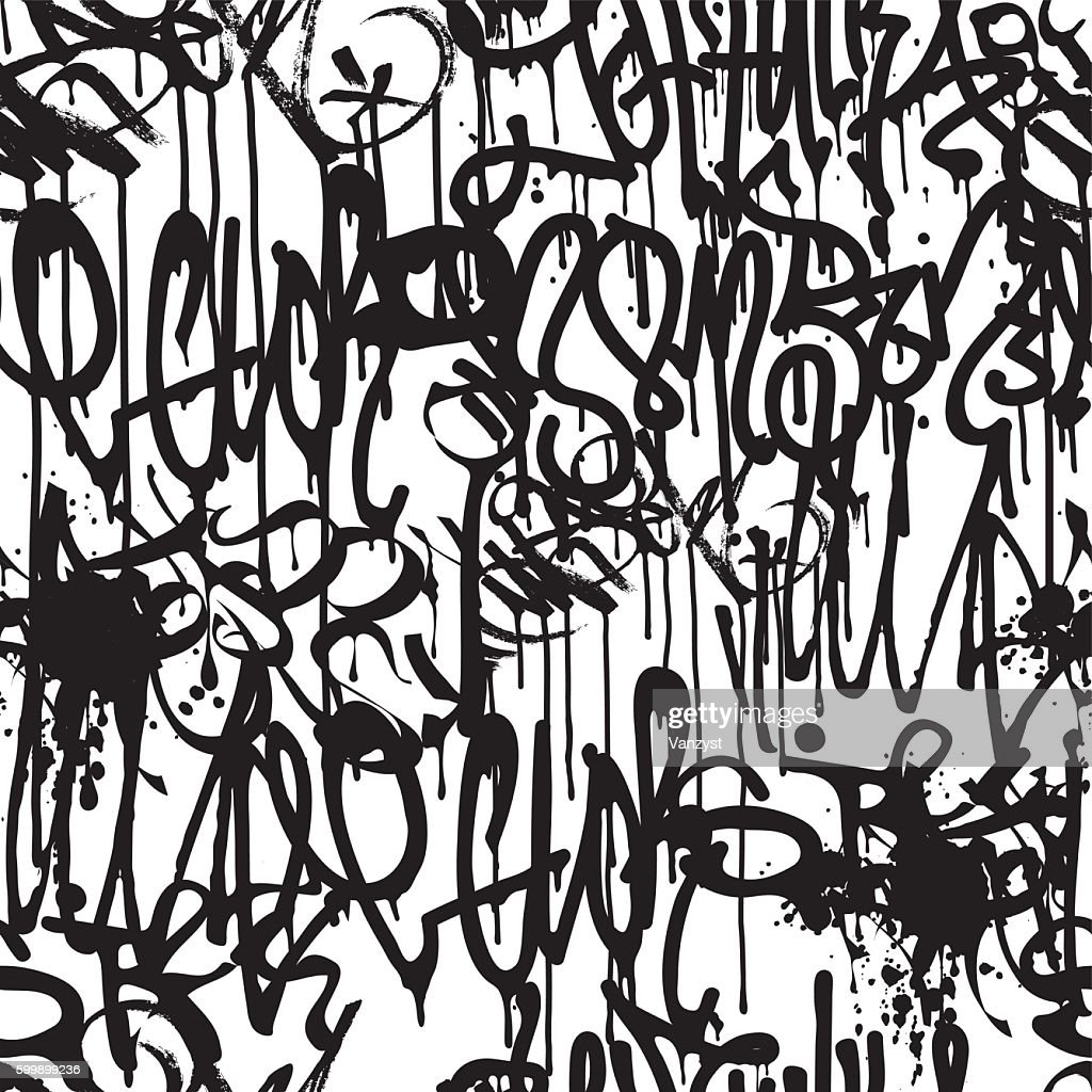 Graffiti Background Pattern