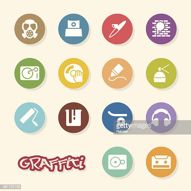 Graffiti Icons - Color Circle Series