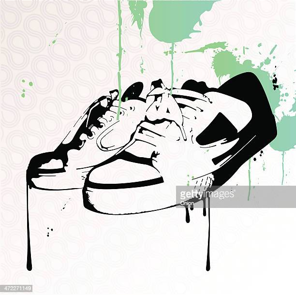 Graffiti Sneakers - illustration