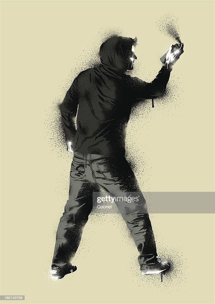 Graffiti Stencil Urban Artist