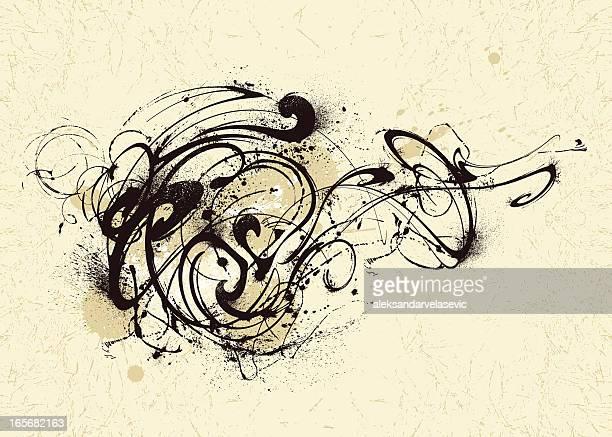 Graffiti Swirl