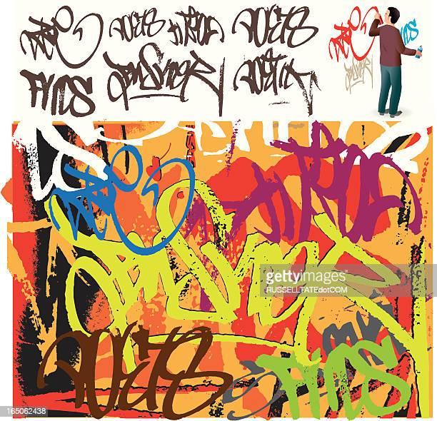 Grafitti-tag