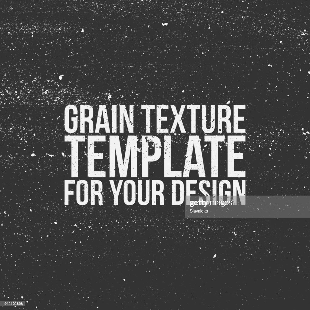 Grain Texture Template for Your Design