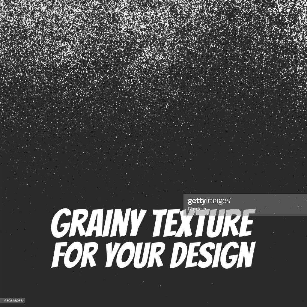Grainy Dust or Snow Grunge Texture